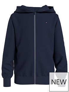 tommy-hilfiger-boys-essential-hooded-zip-through-navy