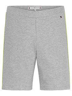 tommy-hilfiger-girls-essential-cycling-shorts-grey