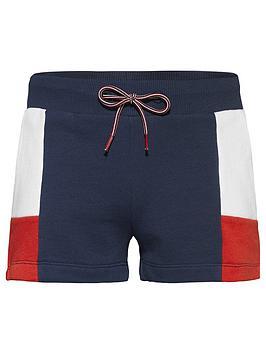 tommy-hilfiger-girls-colour-block-jersey-shorts-navy