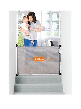 dreambaby-retractable-relocatable-gate-fits-gaps-0-140cm-greymesh