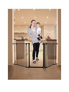 dreambaby-newport-3-panel-metal-adapta-gate-black-metal