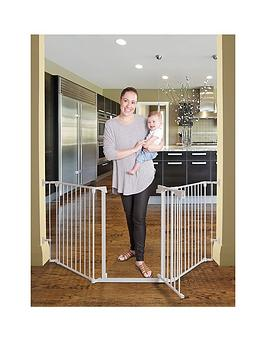 dreambaby-newport-3-panel-metal-adapta-gate-white-metal