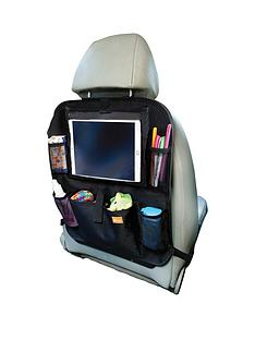dreambaby-backseat-organiser-with-built-in-ipad-holder-black