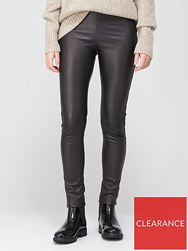 joseph-stretch-leather-leggings-black