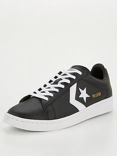 converse-pro-leather-colour-block-ox-trainer-black