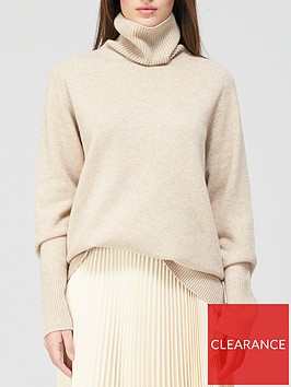 joseph-roll-neck-oversize-knit-jumper-oatmeal
