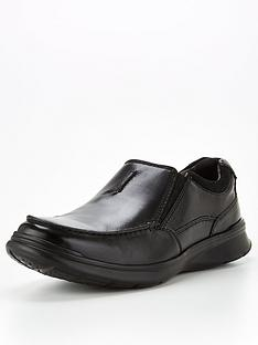 clarks-wide-fitnbspcotrell-free-leather-shoes-black