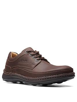 Clarks Nature Three Leather Shoes