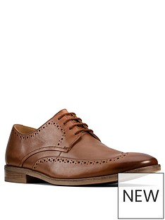 clarks-stanford-limit-leather-brogues