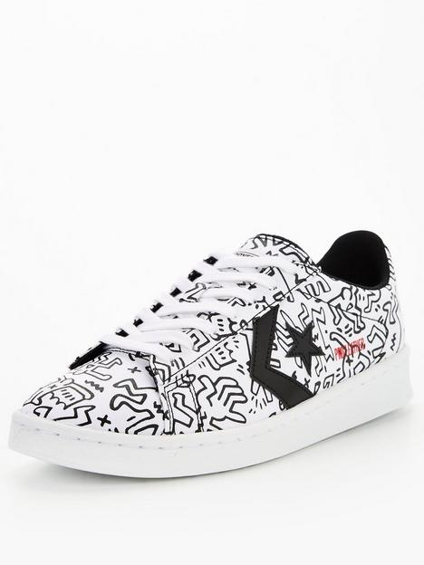 converse-keith-haringnbsppro-leather-trainers-white