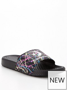 converse-all-star-slide-splatter-print-sliders-black