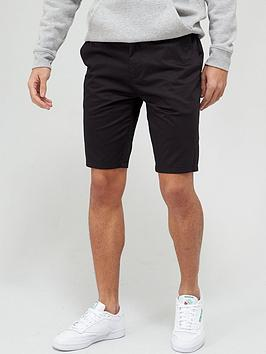 very-man-comfort-stretch-chino-short-with-drawstring-black