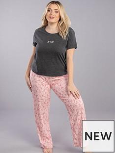 boux-avenue-go-wild-t-shirt-andnbspgiraffe-and-zebra-print-pant-pinknbsp