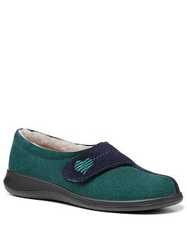 hotter-hotter-wrap-slippers-greennbsp