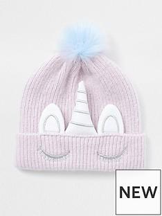 river-island-mini-girls-unicorn-knitted-beanie-hat-lilac
