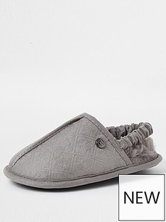 river-island-mini-boys-monogram-mule-slippersnbsp-nbspgrey
