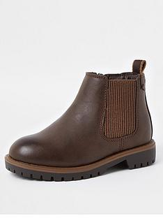 river-island-mini-boysnbspclumpy-chelsea-boots-brown