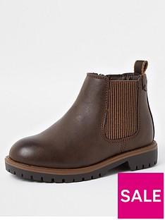 river-island-mini-boysnbspclumpy-chelsea-boots-brown