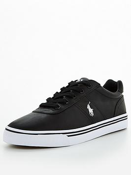 polo-ralph-lauren-halford-leather-trainers-black