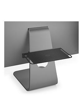 Twelve South Backpack For Imac And Apple Displays Hidden Storage Shelf For Hard Drives And Accessories (Matte Black)
