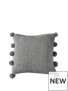 gallery-herringbone-pom-pom-cushion-grey
