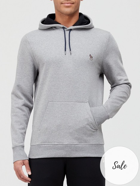 ps-paul-smith-zebra-logo-overhead-hoodie-grey
