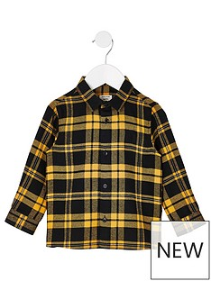 river-island-mini-boys-checked-shirt-blackyellow