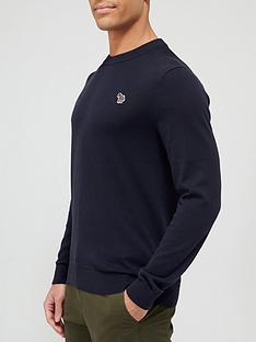 ps-paul-smith-zebra-logo-knitted-jumper-navy