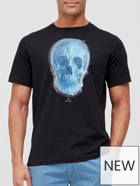 ps-paul-smith-skull-print-t-shirt-black