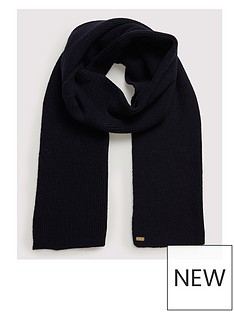 superdry-heritage-ribbed-scarf