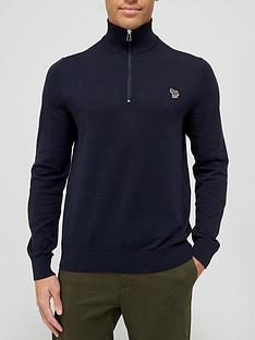 ps-paul-smith-zebra-logo-14-zip-knitted-jumper-navy