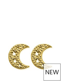 chlobo-chlobo-sterling-silver-gold-plated-starry-moon-stud-earrings