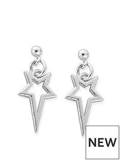 chlobo-chlobo-sterling-silver-north-star-drop-earrings