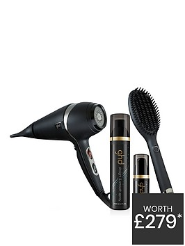 ghd-exclusive-glide-hot-brush-and-air-hair-dryer-bundle