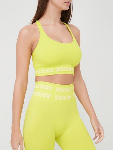 adidas-medium-supportnbspaeroknit-seamless-bra-yellow