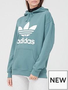 adidas-originals-trefoil-hoodie-emerald