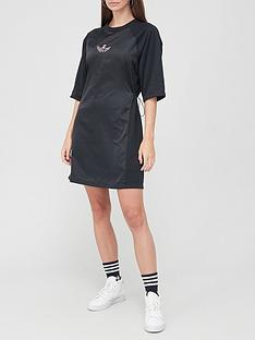 adidas-originals-bellista-t-shirtnbspdress-black