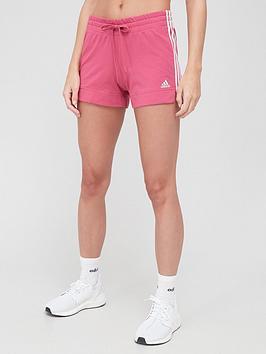 adidas-3-stripe-shorts-pinknbsp