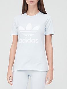 adidas-originals-trefoil-t-shirtnbsp--light-blue