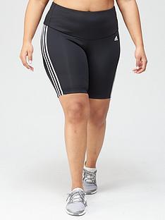 adidas-plus-3-stripes-cycling-short-black
