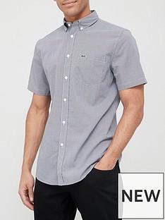 lacoste-mini-gingham-short-sleeve-shirt-navy
