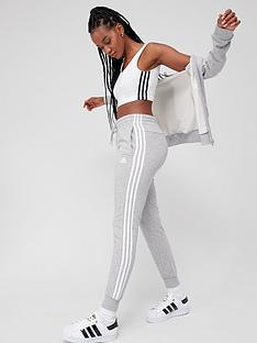 adidas-3-stripe-cuffed-sweat-pants-medium-grey-heather
