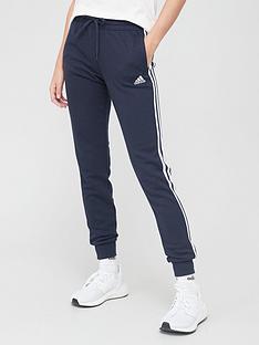 adidas-3-stripe-cuffed-pant-navywhitenbsp