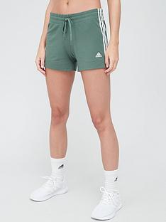 adidas-3-stripe-shorts-greennbsp