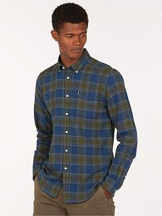 barbour-barbour-highland-check-shirt-navy