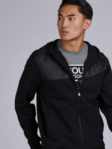 barbour-international-saddle-hoodie-with-contrast-detail-black