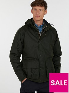 barbour-horrow-hooded-wax-jacket-with-quilted-lining-green