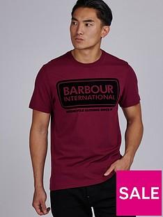 barbour-international-barbour-international-frame-t-shirt-berry