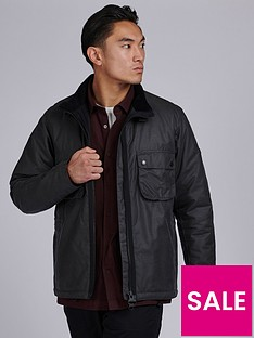 barbour-international-tennant-wax-jacket-charcoal