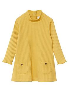 mango-baby-girls-ribbed-knitted-dress-mustard